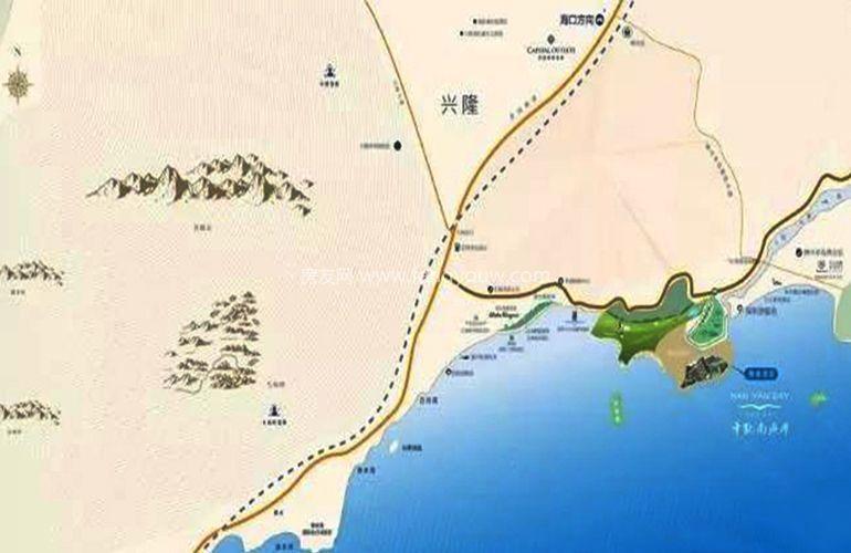 华凯南燕湾 区位图