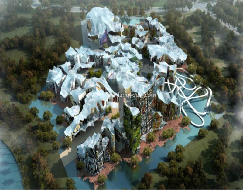 环球100宝龙城 效果图