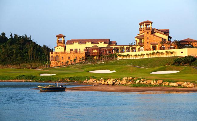 海中海高尔夫球场实景图