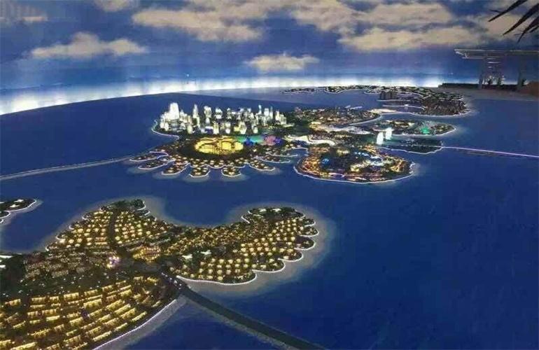 恒大海花岛 实景图