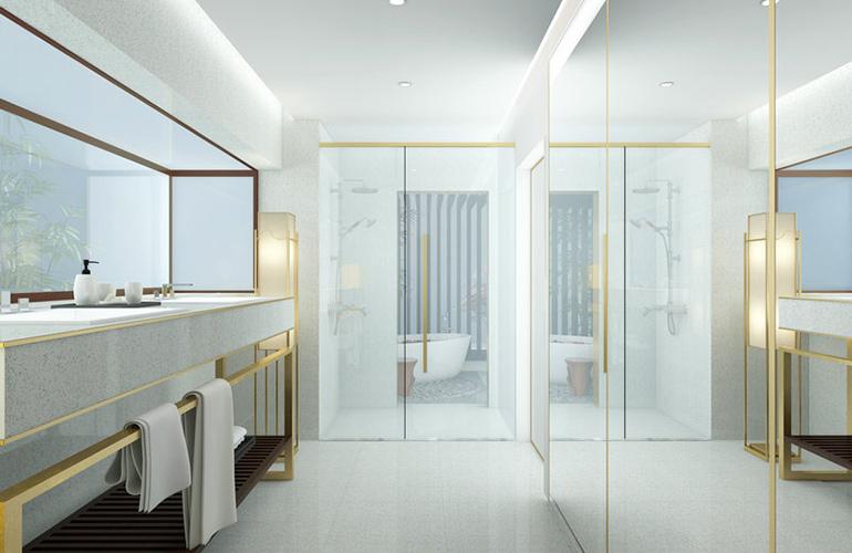 国寿嘉园逸境 样板间:卫浴室