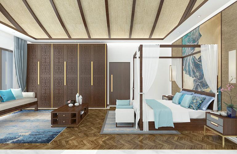 国寿嘉园逸境 样板间:卧室