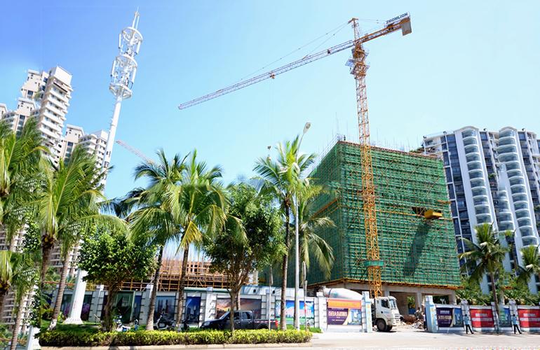 海南国际创意港二期 施工实景图