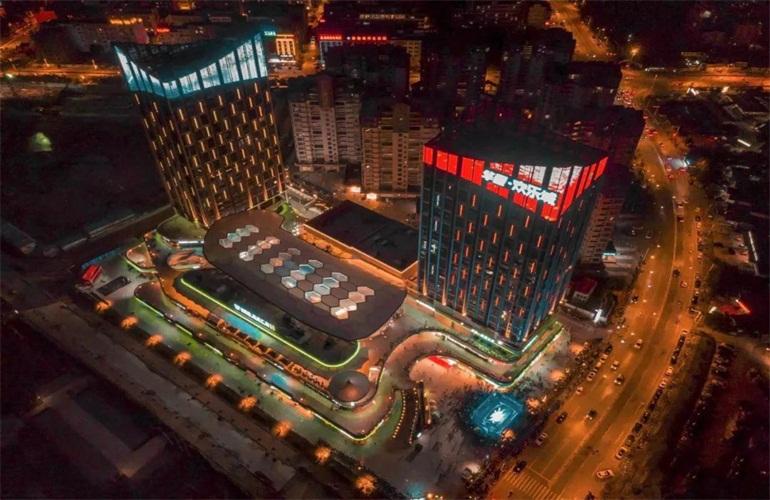 华亚欢乐城 实景图