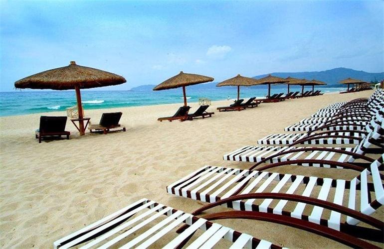 碧桂园海上大都会 三亚湾沙滩