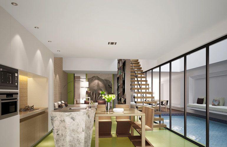 智汇城 效果图:客厅