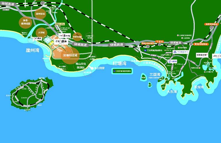 保利浅海区位图