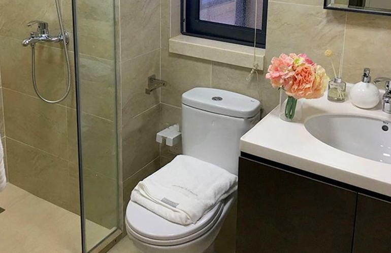 融创美伦熙语 样板间:卫生间