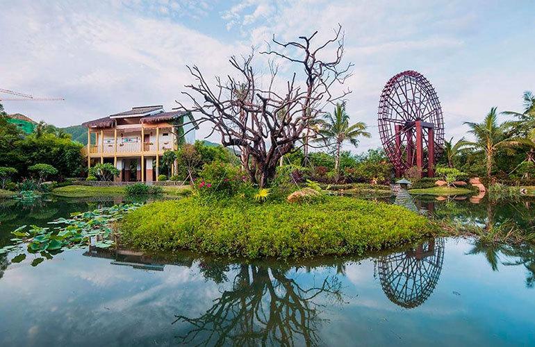 万科湖畔度假公园 实景图
