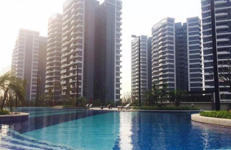 碧桂园中央半岛 楼栋外景图