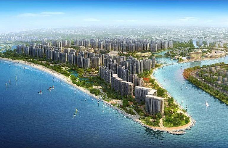 碧桂园中央半岛 鸟瞰图