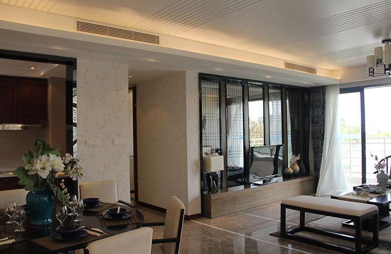 碧桂园中央半岛客厅