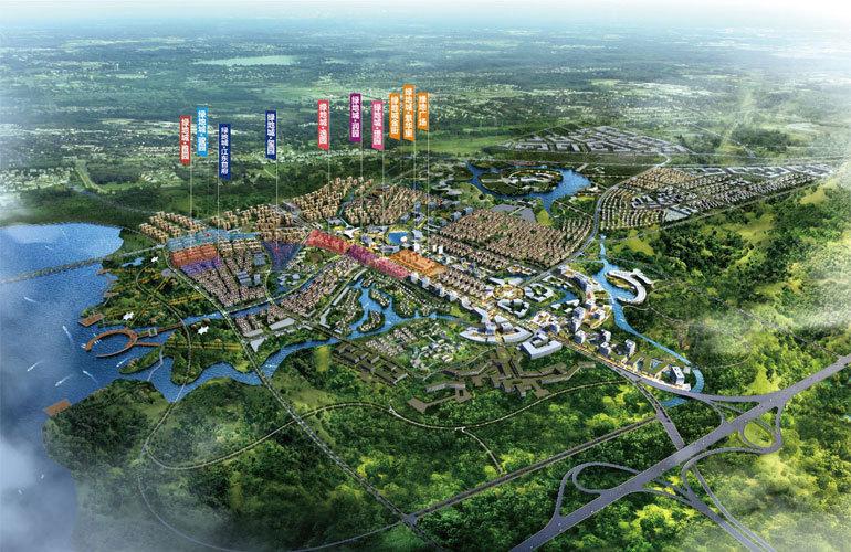 绿地城江东首府规划图