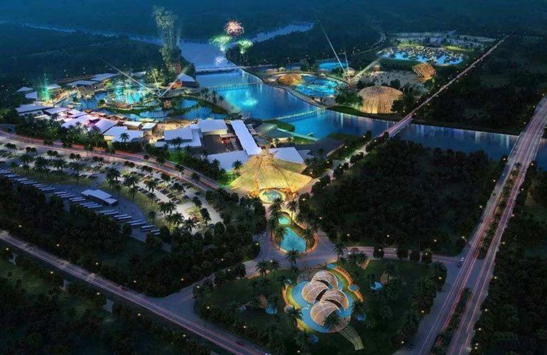 国家海岸保利海棠湾 海棠湾娱乐不夜城