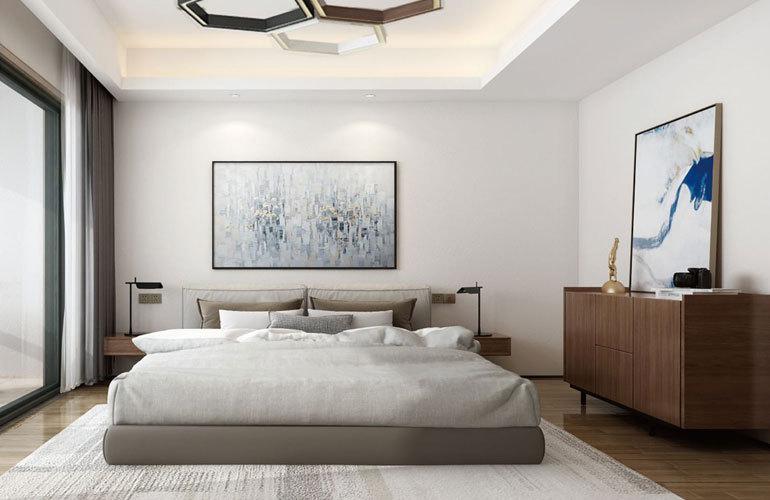 融创·博鳌金湾 样板间:卧室