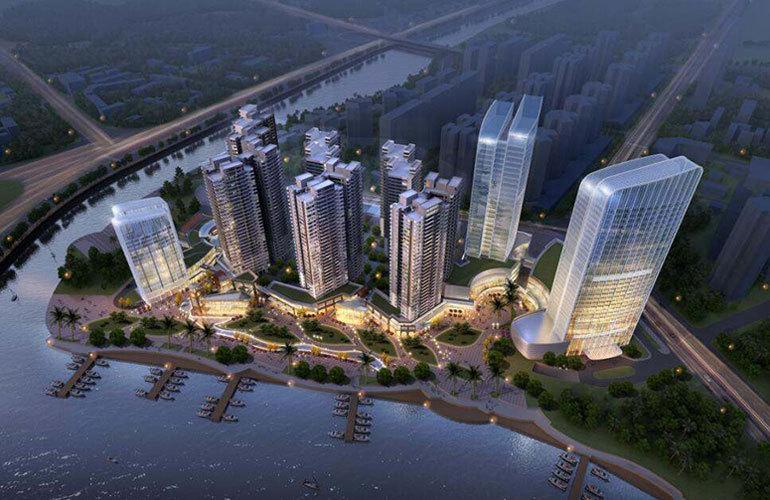 碧桂园滨江海岸 鸟瞰图