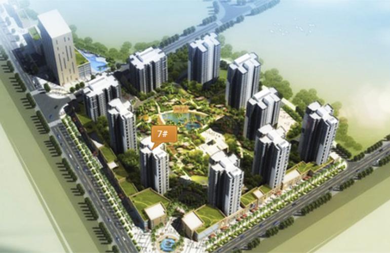 双杰蓝海国际 楼栋分布图