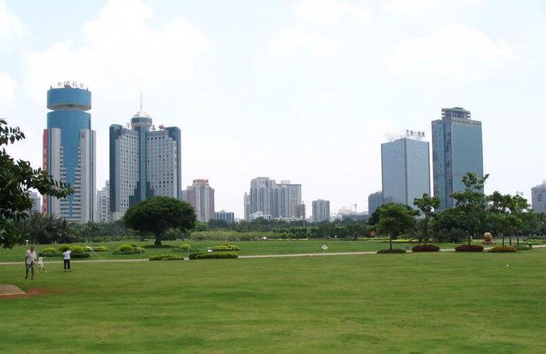 置地东方广场 万绿园