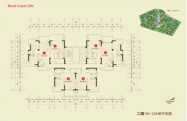 长岛蓝湾 规划图