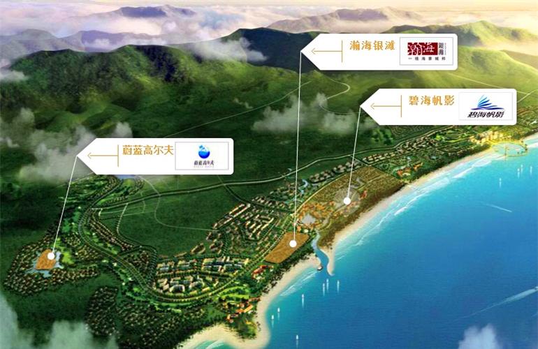雅居乐清水湾 规划图