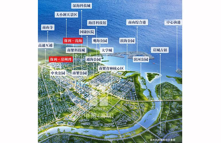 保利浅海 规划图