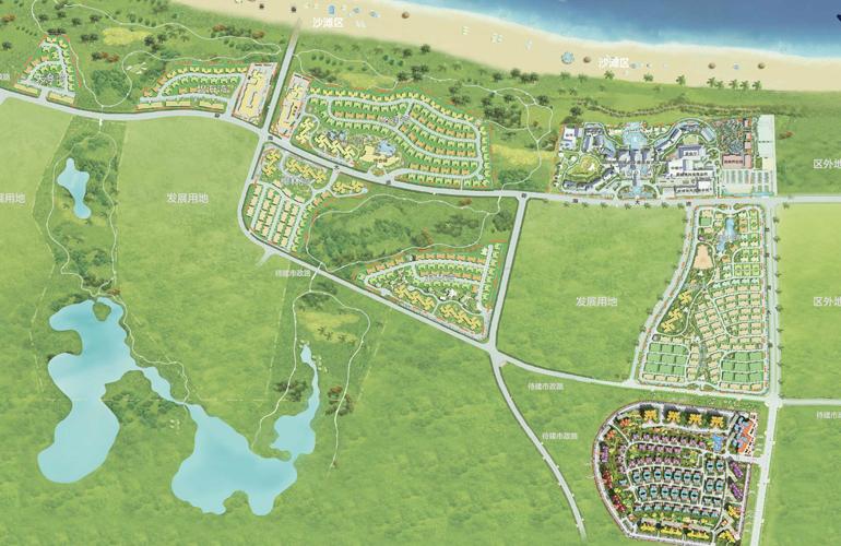 碧桂园金沙滩 碧桂园金沙滩总规划图