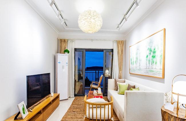 富力悦海湾 富力悦海湾公寓样板间:客厅