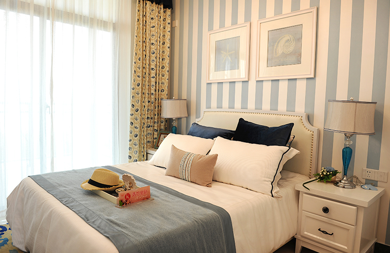 长岛蓝湾 卧室