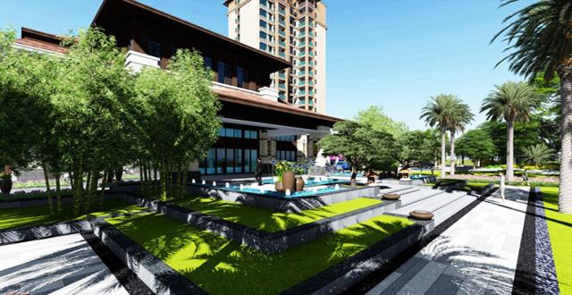 临高毗海澜湾滨景观泳池社区在售,均价10800元/㎡