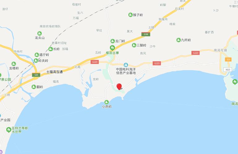 雅居乐清水湾 区位图