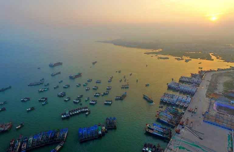 海阳城 白马井渔市