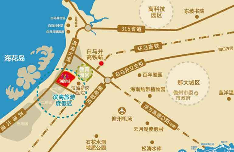 海阳城 区位图