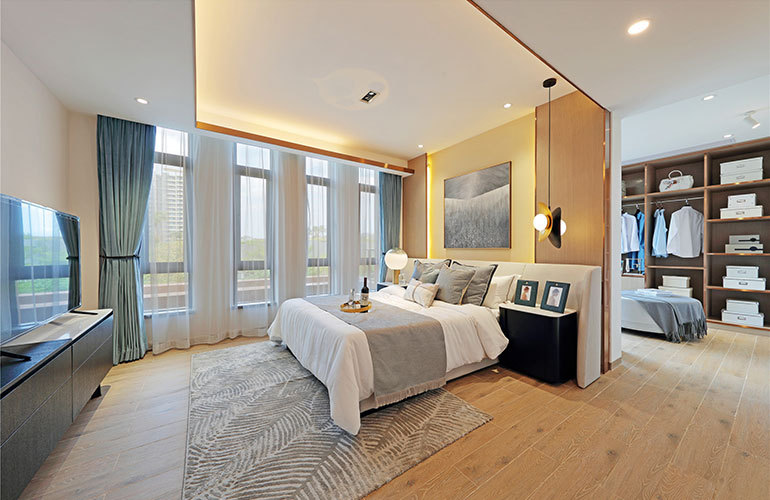富力湾 独栋卧室