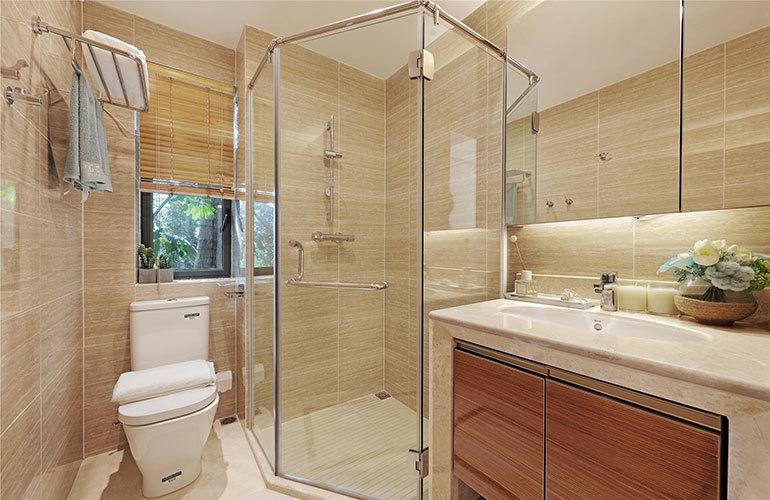 富力湾 01户型浴室