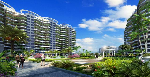 乐东龙栖海岸低密板式住宅在售,外瞰山海,内赏园林,总价190万/套