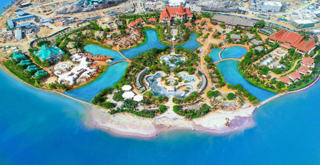儋州人工岛——恒大海花岛,精装瞰海公寓首付5.5万!
