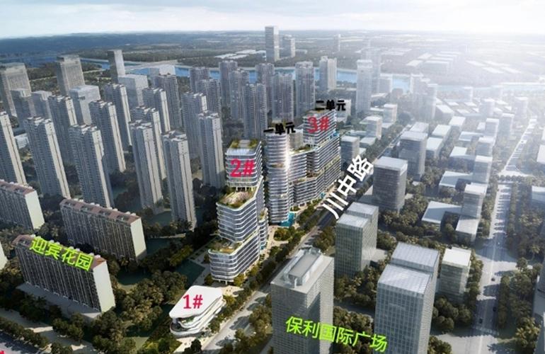 三亚太平金融产业港鸟瞰图