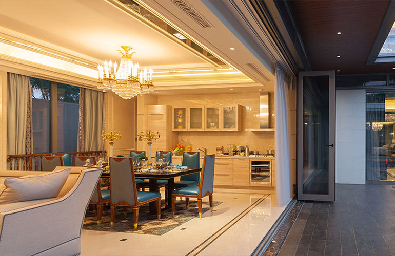 葛洲坝海棠福湾 餐厅+厨房