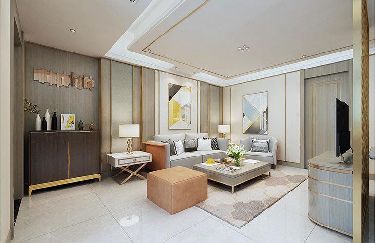 香江温泉人家公寓客厅