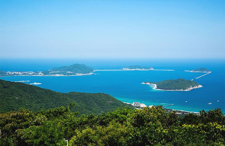 石梅半岛 神州半岛