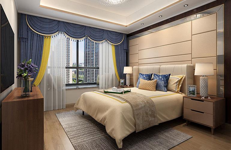 香江温泉人家 洋房卧室