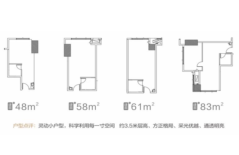 富力首府(商业) 3-26层  低区灵动小户型