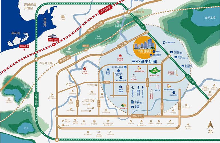 中南智慧城区位图