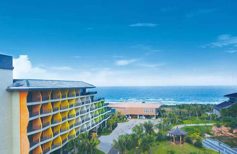富力月亮湾海尚公寓实景图