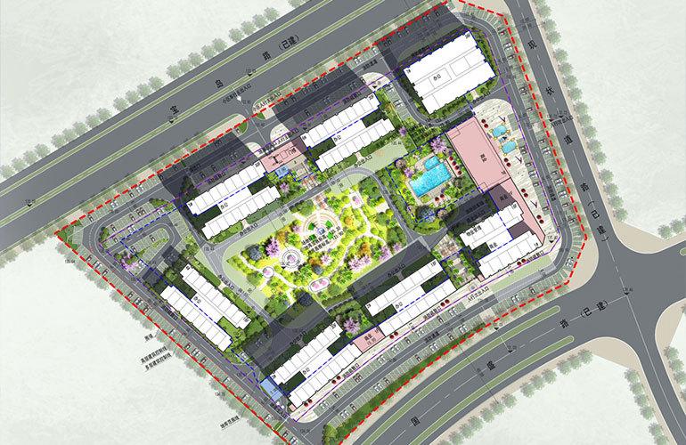 碧桂园宝岛上城 规划图