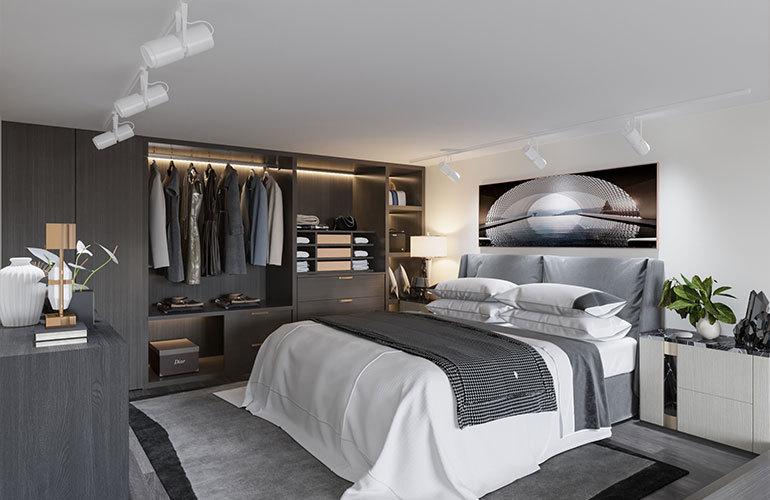 南国大厦 卧室