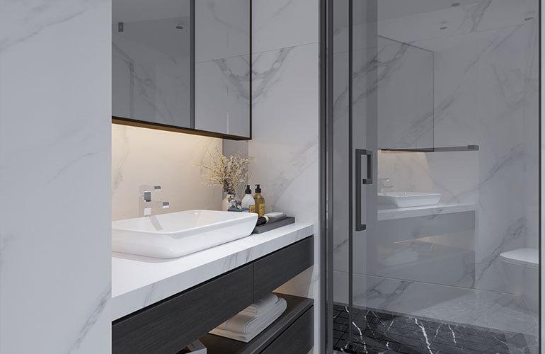 南国大厦浴室