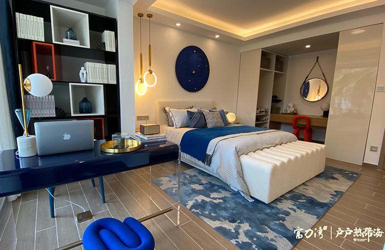 富力湾 海尚公馆卧室
