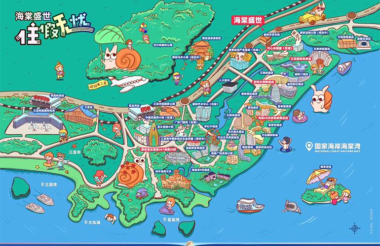 碧桂园海棠盛世 规划图