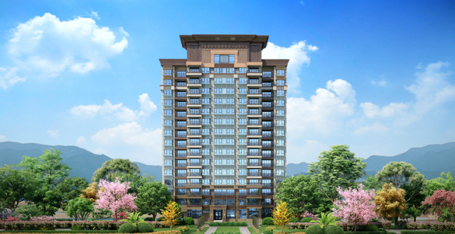 澄迈恒大悦珑湾新中式湖居房源在售,均价12000 元/㎡